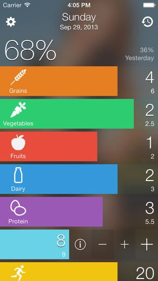 EatRight Food Diary / Journal Simple Daily Nutrition