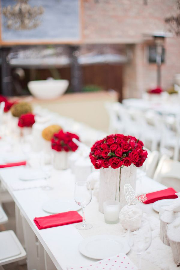 Best ideas about red table decorations on pinterest