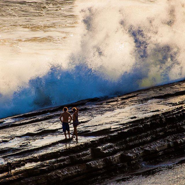 High tide at Popoyo #today #popoyo #nicaragua #tola #surf #magnificrock / www.kubaokon.com