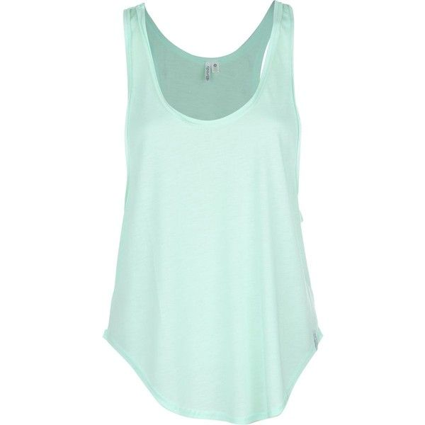 Rip Curl Love And Surf Tank Top (82 BRL) ❤ liked on Polyvore featuring tops, shirts, tank tops, tanks, shirt top, rash guard tank top, green top, rash guard top and rashguard top
