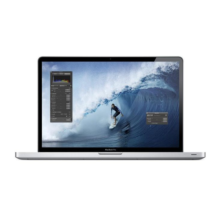 MacBook Pro 17″ (Late 2011) – core i7 – RAM 16GB – HDD 750 GB