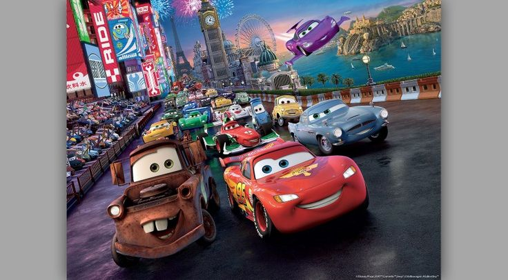 fototapet copii Cars Disney (3)