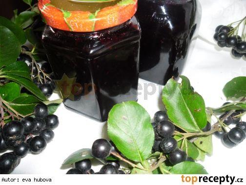Zdravotní marmeláda z černého jeřábu - aronie