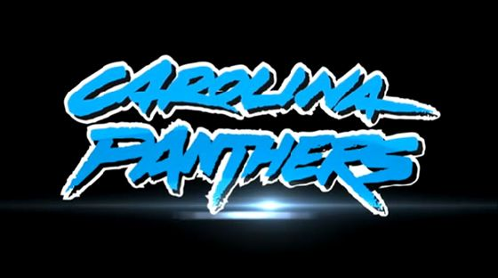 Carolina Panthers New Logo   Old logotype