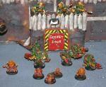Warhammer 40k Bad Moon Ork Tank Busta Boyz at Sekret Door to Fortress Games Workshop