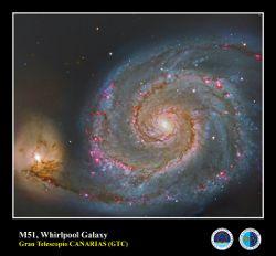 La galaxia del Remolino,