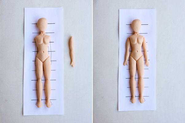 Cómo modelar un cuerpo humano proporcionado