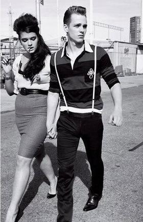 74 Best 50s Bad Boy Images On Pinterest Greaser Style