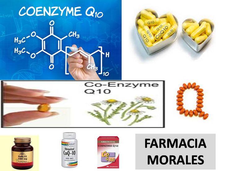 ¿Qué es la #coenzima #Q 10?  https://farmaciamoralesblog.wordpress.com/2016/04/25/que-es-la-coenzima-q-10/ es #antioxidante, #nutre,da #energia a las #celulas,ayuda a las #defensas y #sistema #inmune,reduce los #radicales libres, reduce el #peso ,disminuye el #envejecimiento ,reduce el #colesterol,ayuda al #corazon y previene #problemas #cardiacos