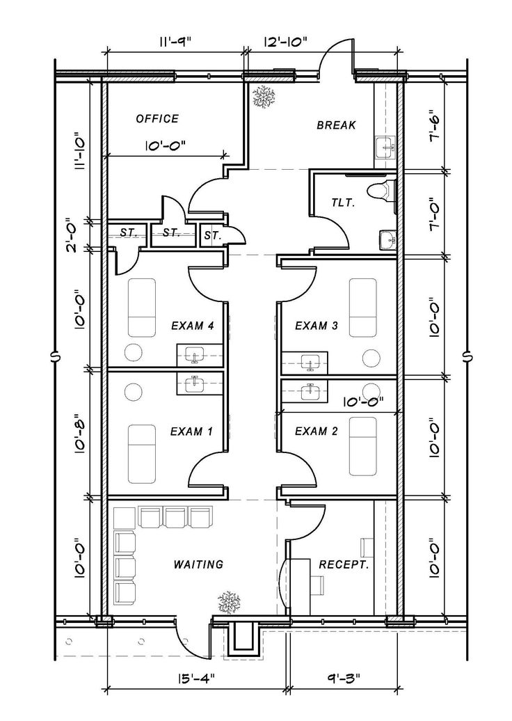 medical office floor plan samples decorating inspiration