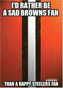 I'm a happy Browns fan. :)