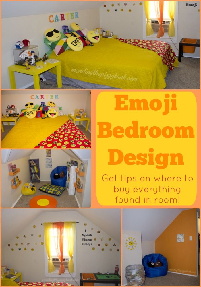 Emoji Bedroom Design I Was Initially Stumped When My Son