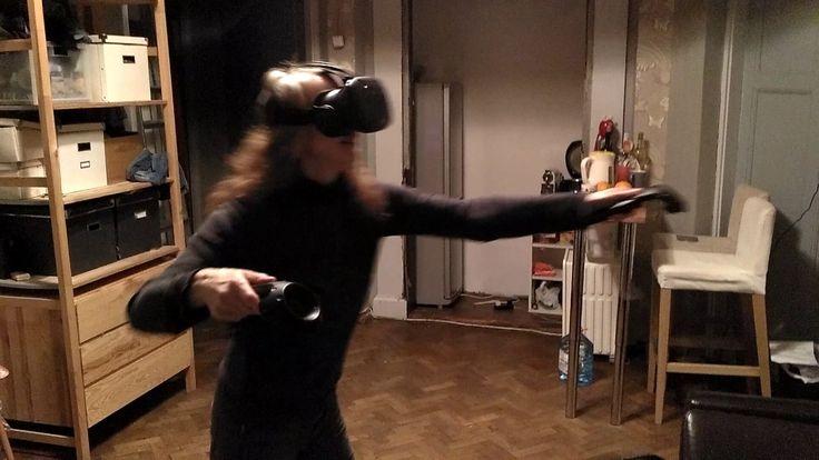 """в шлеме """"виртуальная реальность"""""""