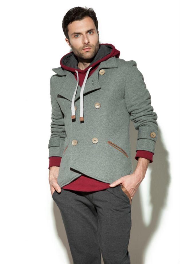 Juniper Jacket • szary - bozzolo - Marynarki męskie