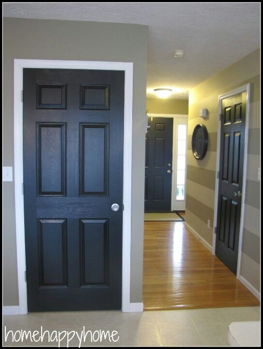 Unique Interior Door Color Ideas