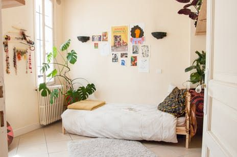 Janaé, Angela, and Simon are flatmates in an exhuberantly bohemian rental in Paris' 19th Arrondissement.