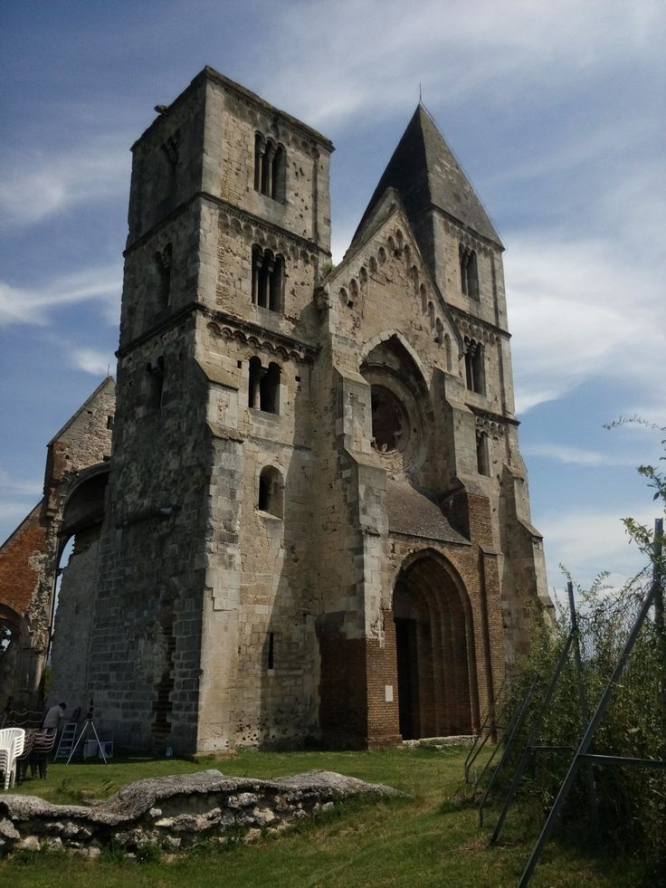 The ruins of the church in Zsámbék that belonged to the St. Paul order's monks. It was built in around 1457.