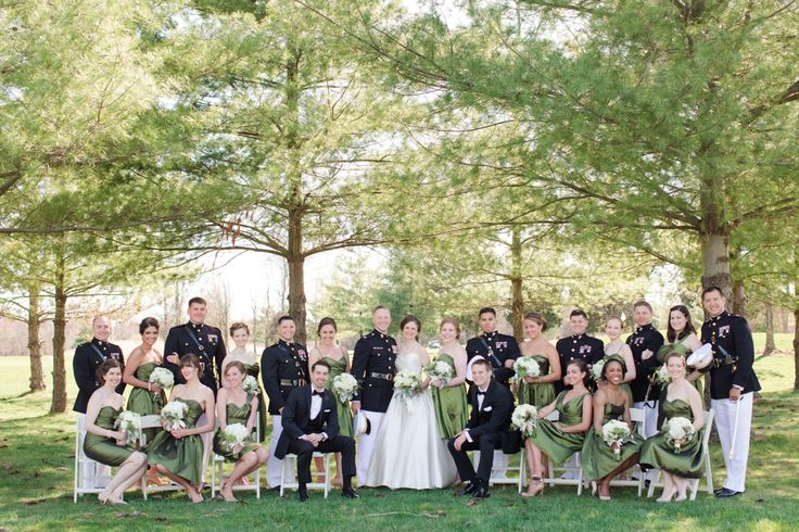 Large Bridal Party Shot Love This We