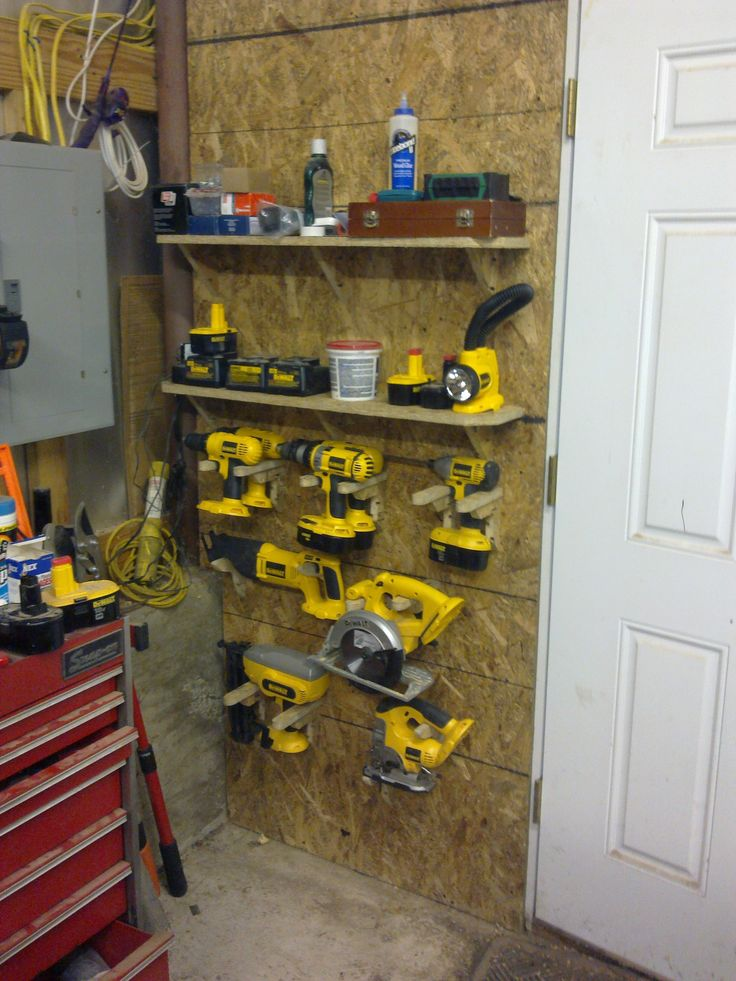1000+ Ideas About Power Tool Storage On Pinterest