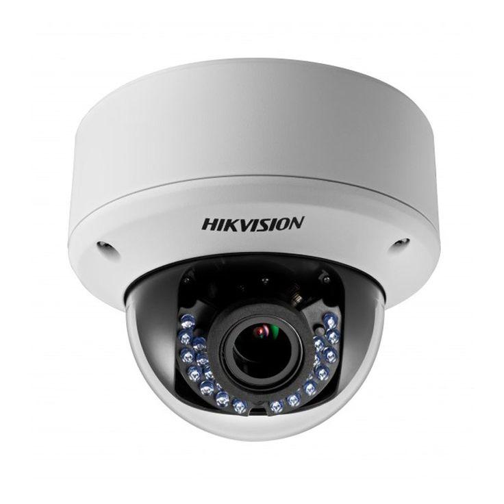 """Hikvision DS-2CE56D5T-AVPIR3Z DS-2CE56D5T-AVPIR3Z Купольная антивандальная TVI видеокамера DS-2CE56D5T-AVPIR3Z HikVision выполнена на базе матрицы 1/3"""" Progressive Scan CMOS и поставляется в комплекте с вариофокальным объективом 2.8-12мм. разрешение камеры составляет 1080р, светочувствительность 0.01Лк.  Технические характеристики:   Матрица 2Мп CMOS  Разрешение 1080р  Чувствительность 0.01Лк @F1.2  Объектив 2.8-12мм@ F1.4  Угол обзора 103° - 32.1°  Режим «День/ночь» Механический ИК-фильтр с…"""