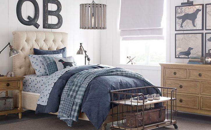 restoration hardware bedroom