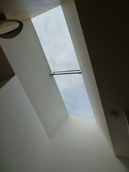 Flushglaze Multipart Rooflight with glass fins