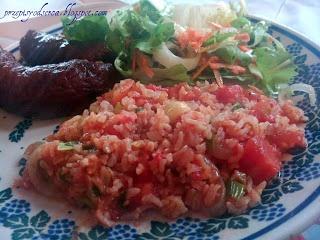 Oriental rice with tomatoes / Orientalny ryż z pomidorami