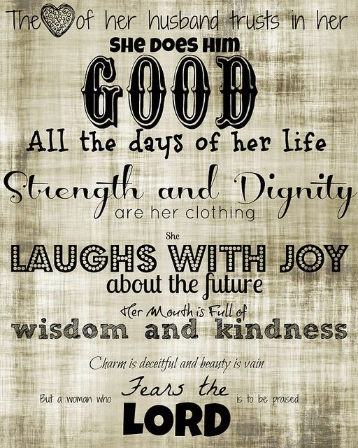 proverbs 31 quotes - Google Search