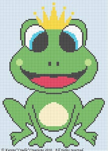 Free Frog Baby Afghan Pattern | images of Baby Boy Crochet Patterns