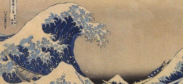 Il Wall Street Journal racconta quello che sta intorno all'immagine più famosa dell'arte giapponese, e come è diventata così familiare
