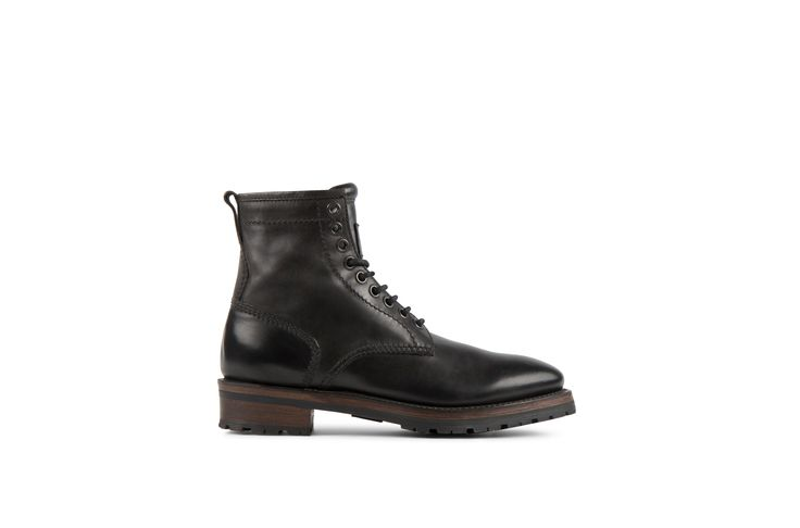 Project Twlv Royal Black Cordovan Leather Goodyear Welted