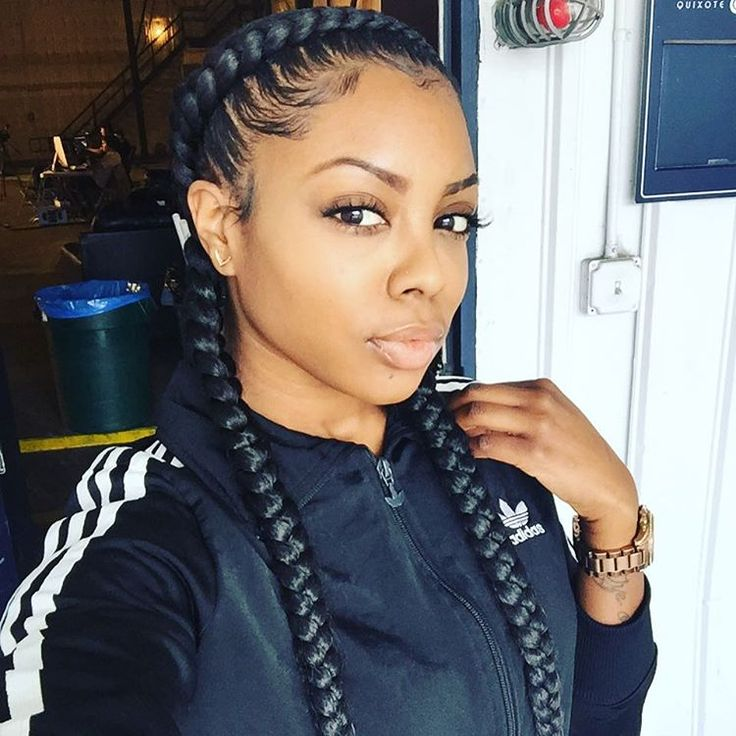 """""""These two braids made it to so many Instagrams lol @t2dawy you did that ! Think I'm ready for em' again."""""""