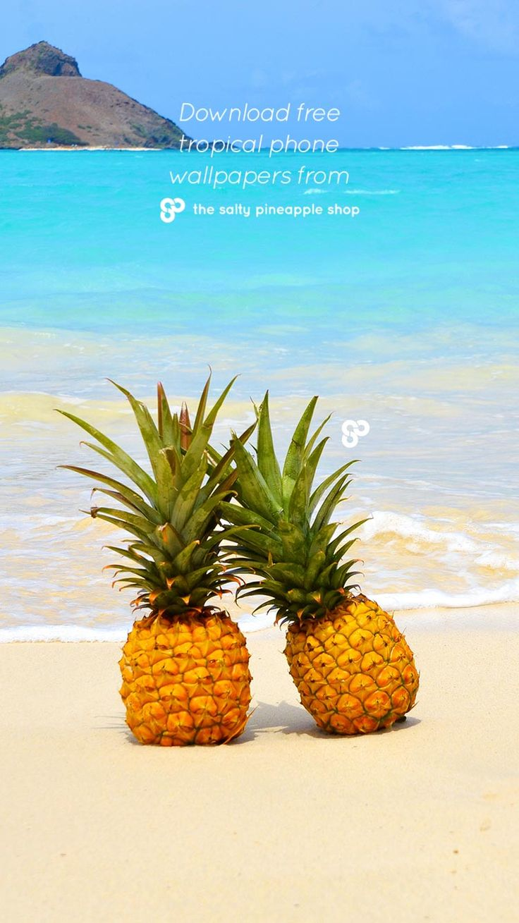 82 best Free Phone Wallpapers images on Pinterest | Phone ... for Pineapple Wallpaper Beach  55nar