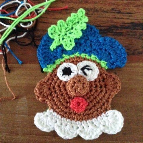 Gratis haakpatroon pieten-broche haken voor Sinterklaas @ Enjoy my enjoyz