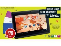 $79 Android Tablet from Target, was $129, $50 off until 27/11