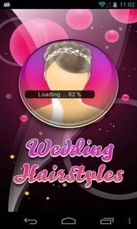 """Download Wedding Hairstyles Application Free - Get Wedding Hairstyles app and impress everybody on your """"wedding day"""" with your fabulous hairstyle! Watch video tutorials and learn how to create gorgeous wedding hairstyles for all tastes and hair lengths!  Choose your perfect hairstyle for wedding and learn how to create it yourself."""