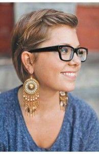 Kurzhaarfrisuren damen 2012 fur brillentrager