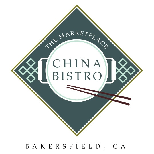 Logo for Chinese restaurant in Bakersfield, CA, by The Think Farm
