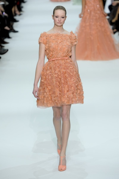i would wear this every day {elie saab spring 2012 collection}