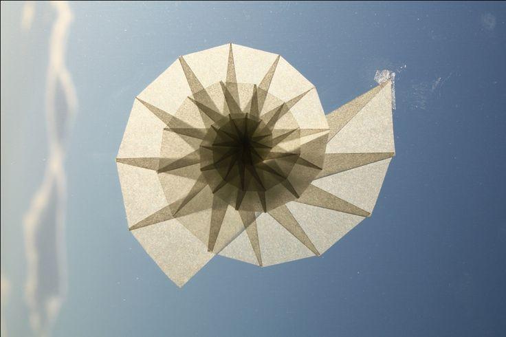 TUC-Adventskalender 2011 (16): Nautilusspiralen aus Papier