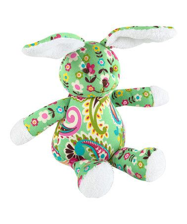 Take a look at this Tutti Frutti Bunny Plush Toy by Vera Bradley on #zulily today!   http://www.zulily.com/invite/dcantu347