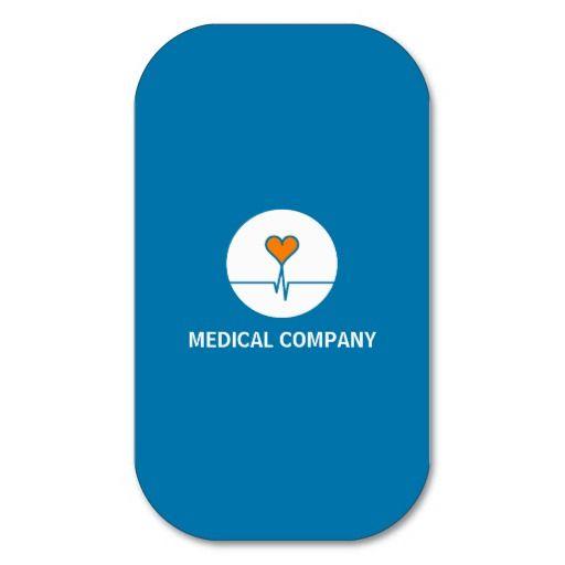 Tarjeta comercial Medical Mod. Healthcore Tarjetas De Visita