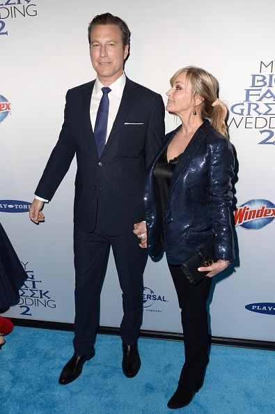 John Corbett and Bo Derek attend the 'My Big Fat Greek Wedding 2' New York premiere at AMC Loews Lincoln Square 13 theater on March 15 2016 in New...