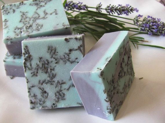 Lavender and Rose Soap by cocoandlolabathbody on Etsy, $5.50
