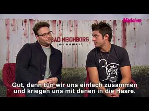 Bad Neighbors: Interview mit Zac Efron und Seth Rogen ~ taped in Berlin on April 25, 2014