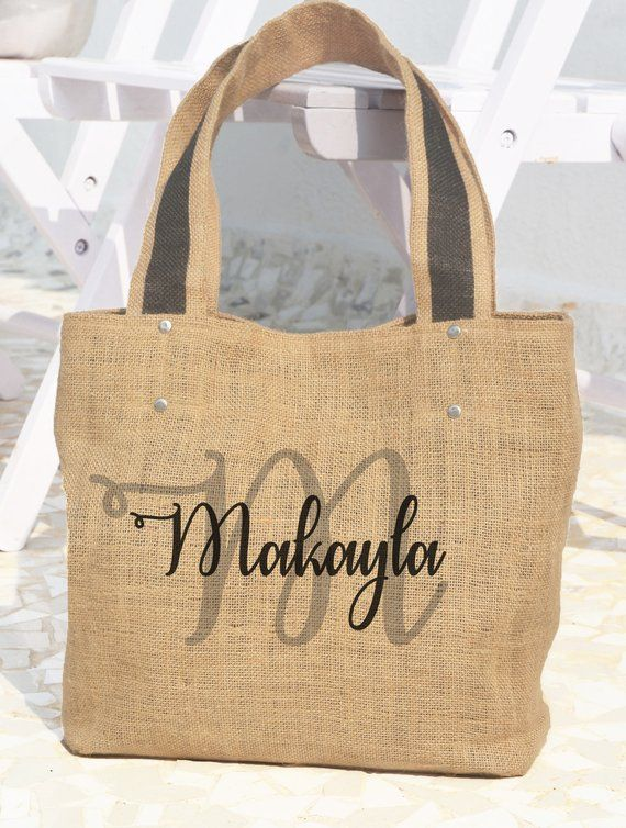 Download Name Tote Bag Personalized Tote Bag Custom Market Bag Any Text Bag Your Text Bag Shoppi Burlap Tote Bags Personalized Shopping Bags Personalized Tote Bags