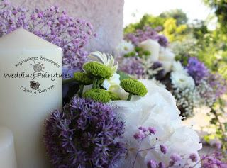Follow Elena's fairytale: Γάμος σε λιλά αποχρώσεις, ορτανσίες, ζέρμπερες γήι...