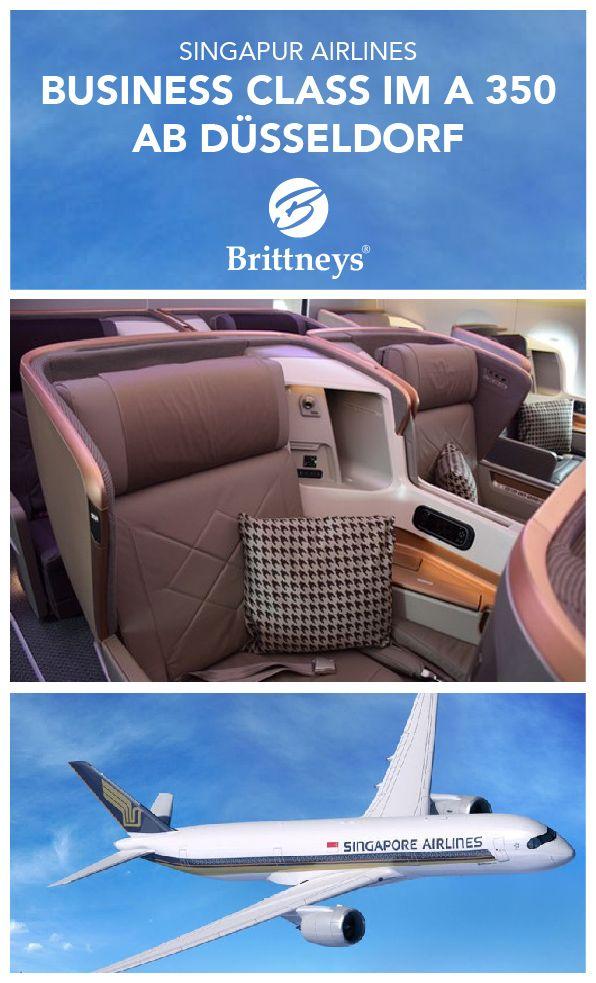 BUSINESS CLASS IM A 350 MIT SINGAPUR AIRLINES. Mein Review auf http://www.brittneys.de/singapur-airlines-business-class-a350-erstflug/ #business #flug #singapur #luxus