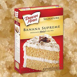 Banana Supreme Cake Mix Recipes