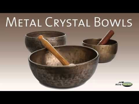 ▶ Metal Crystal Bowls - Full 60 Minute Soundtrack - YouTube Beautiful for doing yoga with